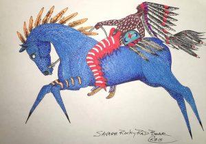 blue-horse