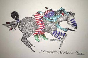horseback-battle